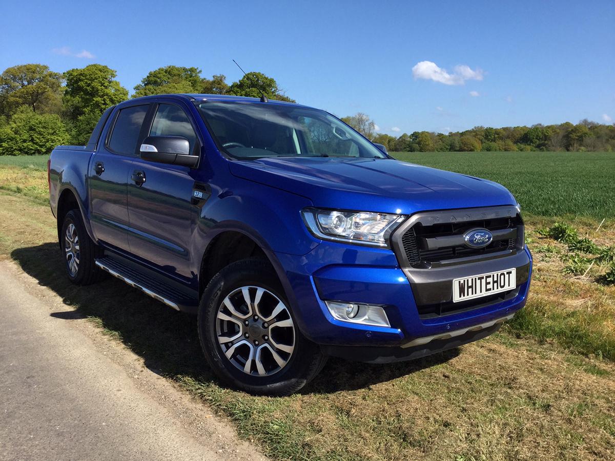 Ford Ranger Wildtrak Blue White Hot Group Ltdwhite Hot Vans